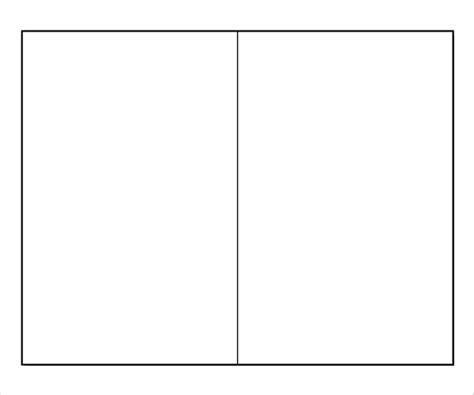 blank bi fold brochure templates 18 free psd ai