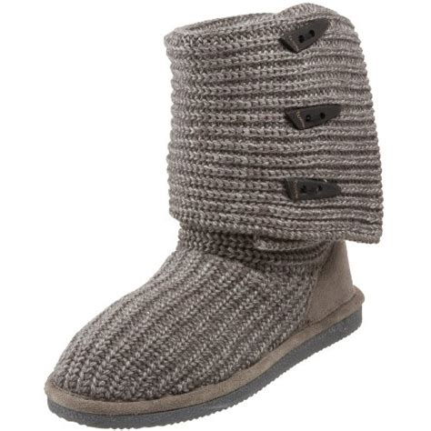 bearpaw grey knit boots save 38 95 bearpaw s knit boot