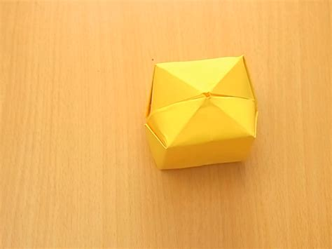 origami of how to fold an origami cube with pictures wikihow