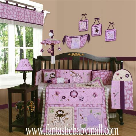 discount baby crib bedding sets discount baby bedding set boutique animal kingdom 13pcs