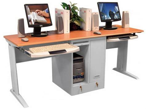 two person desk home office two person workstation for office and home office homesfeed