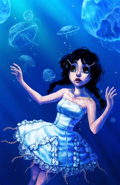 princess jellyfish princess jellyfish by curry23 on deviantart