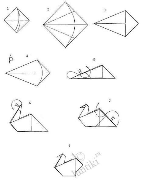 how to make a origami goose arts and crafts origami activity the simple scheme