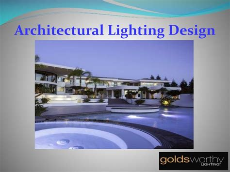 landscape lighting ppt ppt led commercial outdoor lighting powerpoint presentation id 7451717