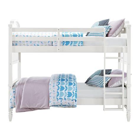 living home bunk bed dorel home products dorel living vivienne bunk bed by oj