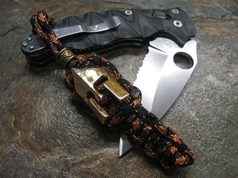 spartan helmet bead harley paracord knife lanyard w spartan helmet bead
