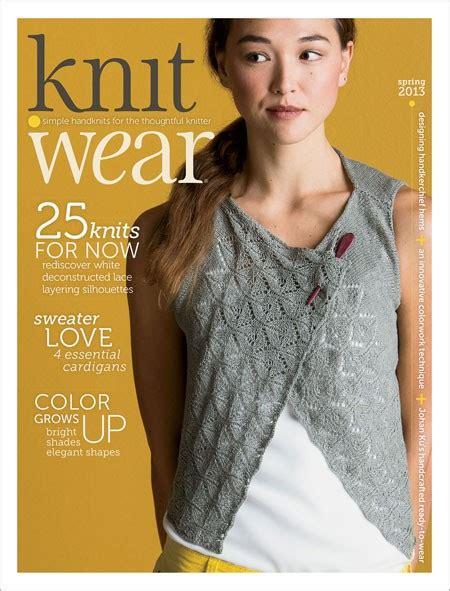 knit wear magazine subscription knit wear 2013 print edition