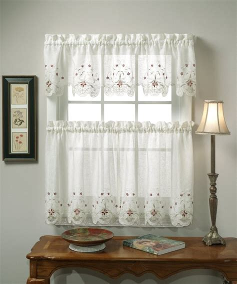 and white kitchen curtains different curtain design patterns home designing