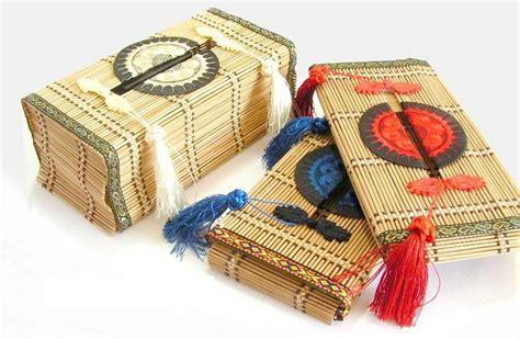 tissue paper box craft bamboo tissue box tissue holder paper box folk crafts