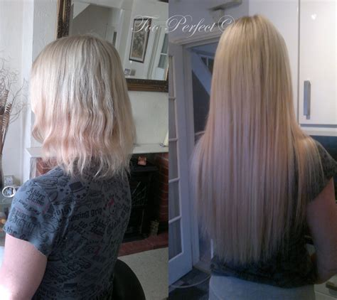 micro extensions micro loops hair extensions before and after weft