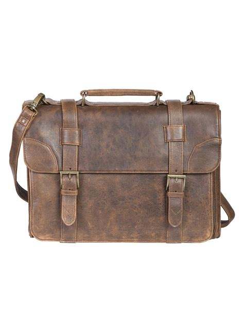 mens distressed leather messenger bag mens leather distressed aerosquadron messenger bag by scully s messenger bags s bags