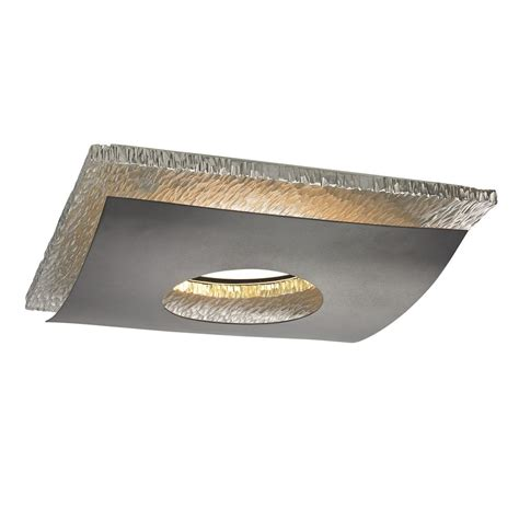ceiling lights recessed hammered chrome decorative square ceiling trim for