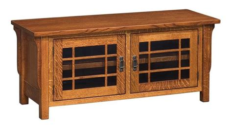 What Is Craftsman Style amish lancaster mission tv stand no drawers tv stands