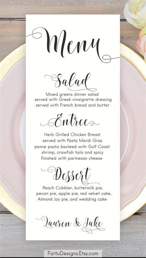 how to make menu card best 25 menu cards ideas on wedding menu