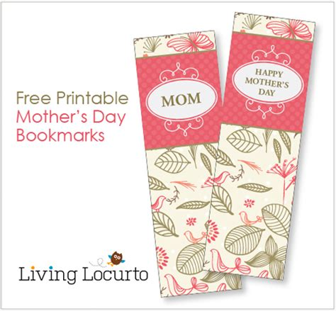 mothers day picture books s day bookmarks coloring sheet free printable