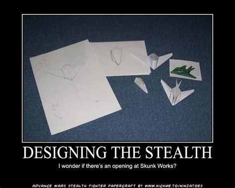 paper craft works papercraft skunk works by ninjatoespapercraft on deviantart