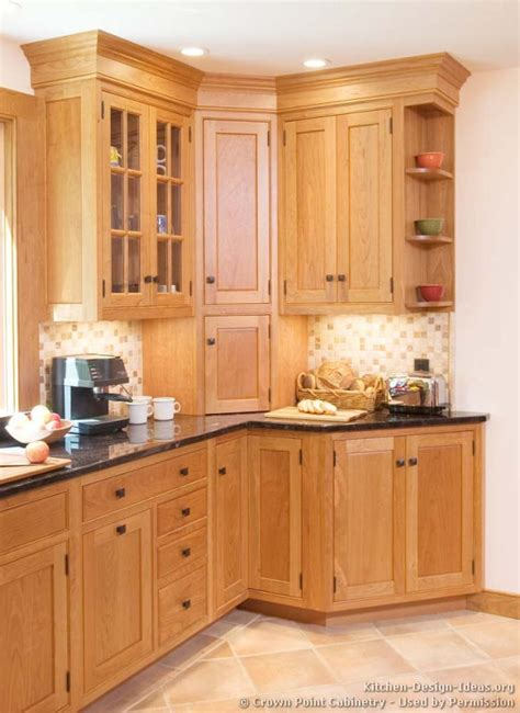 corner cabinets for kitchen shaker kitchen cabinets door styles designs and pictures