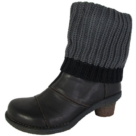 knit boots womens el naturalista womens n744 tesela knit ankle boot shoes ebay