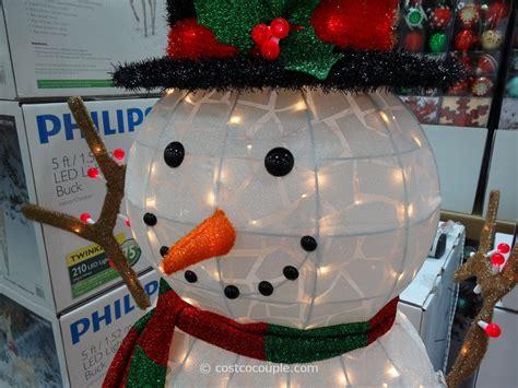 illuminated snowman 60 inch lighted snowman