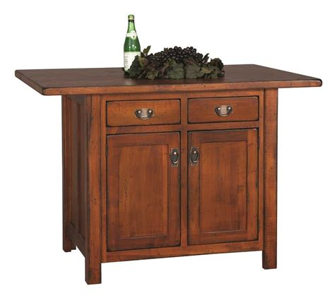 mission style kitchen island design your own custom amish made kitchen island mission style