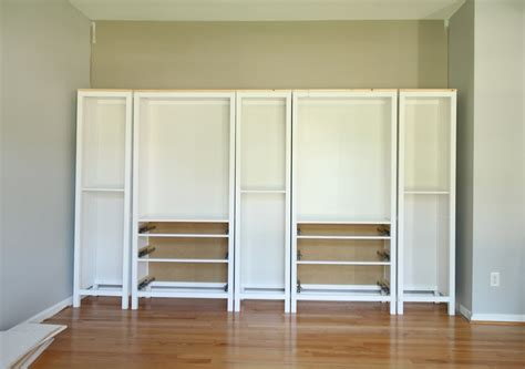 how to build a bookcase with glass doors diy built in bookcase reveal an ikea hack studio 36