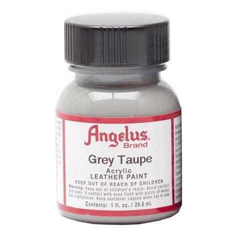 angelus paint grey buy angelus leather paint 1 oz grey taupe