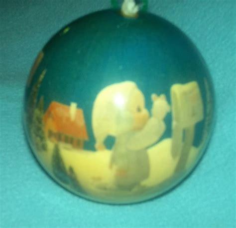 enesco ornaments enesco precious moments 1991 vintage plastic ornament