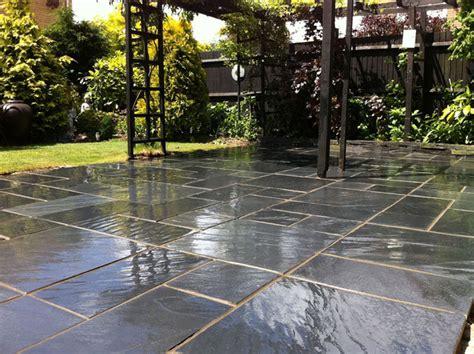 slate landscaping fairstone slate garden paving marshalls co uk