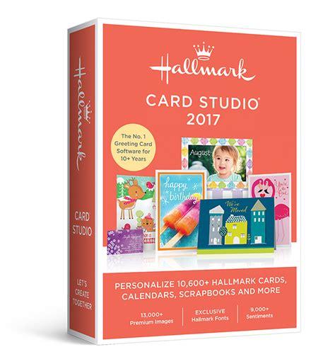 hallmark card software hallmark card studio 2017