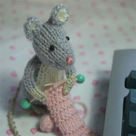 knit animals 111 best knitting animals mouse images on mice