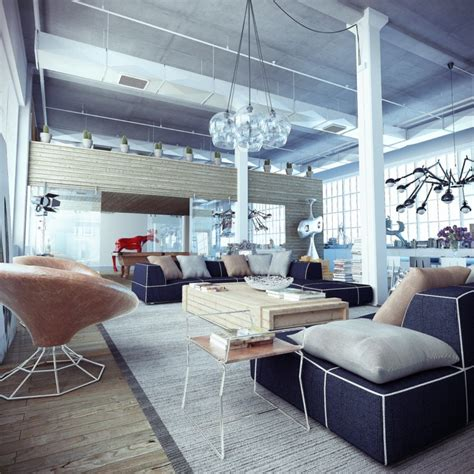 loft decor industrial loft