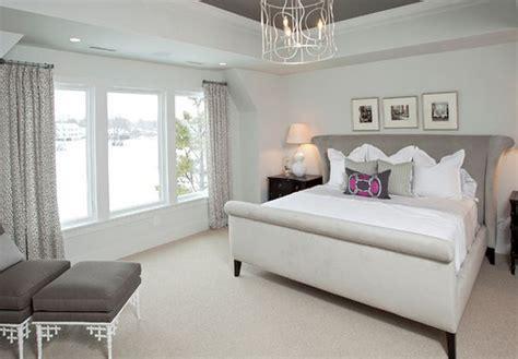 peinture chambre adulte gris deco maison moderne