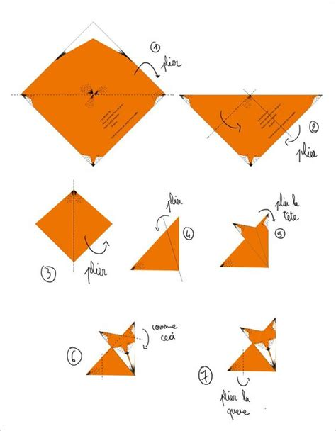 how to make a fox origami diy origami fox tutorial free origami