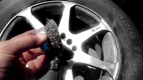 spray paint your rims black quot how to paint rims with rustoleum quot wheel paint part 1
