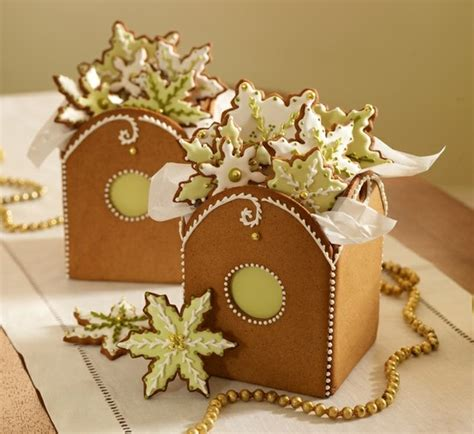 gift boxes for cookies gingerbread cookie boxes food