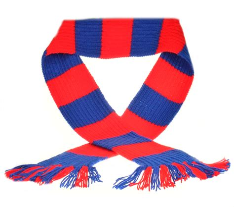 soccer knitting pattern craft hobby knitted scarf kit premier league football dk