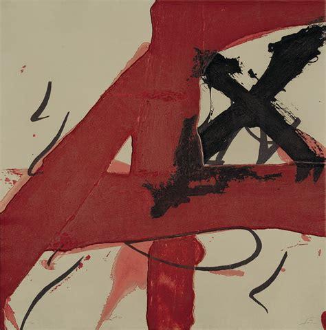 Transcendental Artwork by Cerulean Antoni Tapies