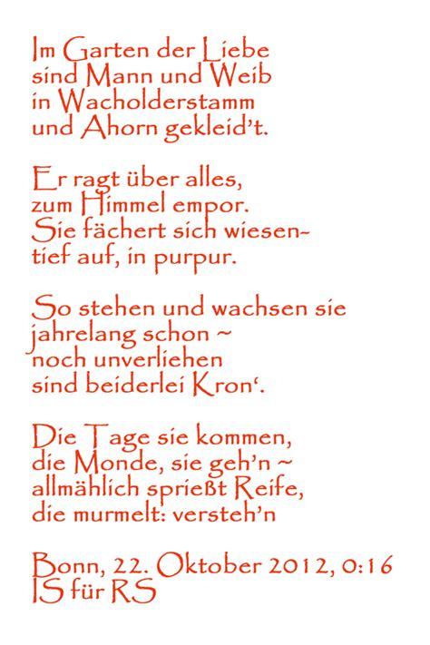 Garten Der Liebe Gedicht by Im Garten Der Liebe Poetry Sights Wiengrid