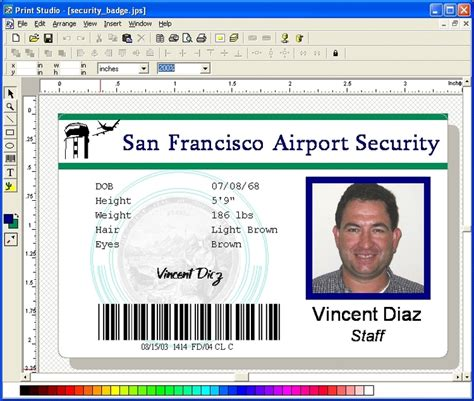 free software for card print studio photo id card software 6 7 x64 x32