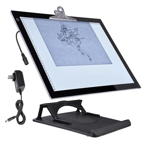 drafting table light box 19 quot led artist stencil board drawing tracing table