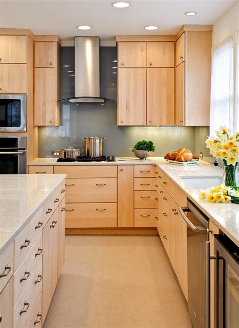 maple kitchen furniture small kitchen with maple cabinets mixed white stainless appliances homes showcase