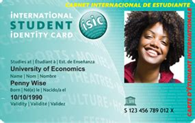 how to make student id cards isic card isic