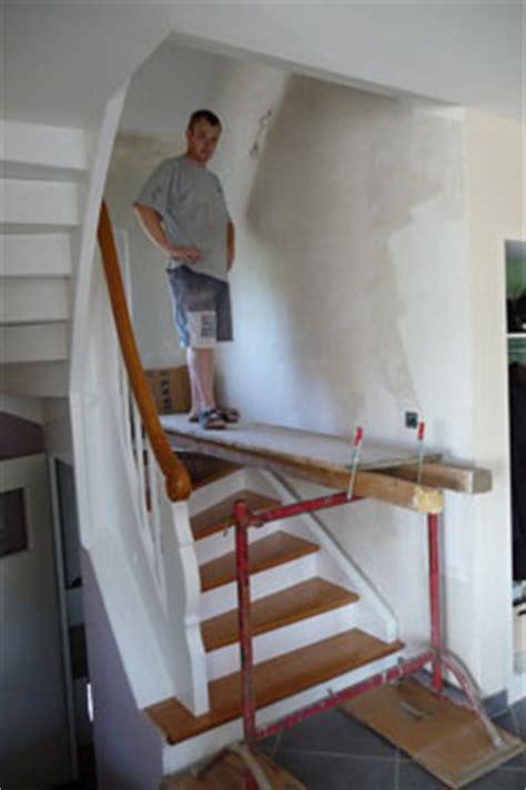 la cage d escalier notre maison chantier jour apr 232 s jour