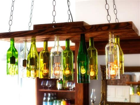 wine bottles chandelier how to make a chandelier from wine bottles how tos diy