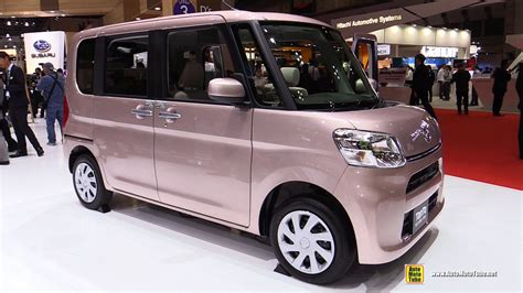 Daihatsu Tanto by 2016 Daihatsu Tanto Welcome Seat Exterior And Interior