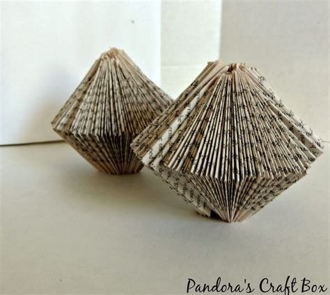 book folding origami book folding origami ornament pandora s craft