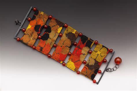 seed bead loom loom work beading loom work bracelet beaded bracelet