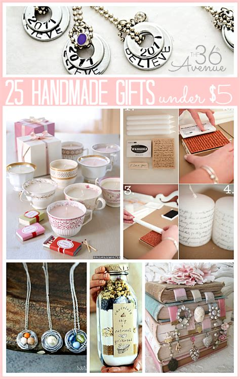 gifts for 5 dollars 25 handmade gifts 5 our home sweet home