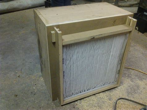 woodworking air filter dust collecting air filter by turningart lumberjocks