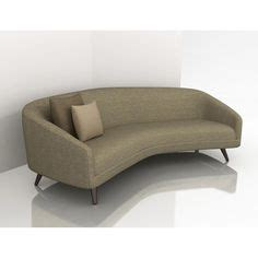 modern loveseat sofa 1000 ideas about curved sofa on modern sofa